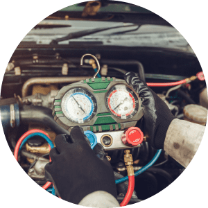 Vehicle Air Conditioning Repair repairs - AC re gassing - Repairs